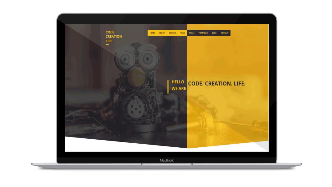 Code. Creation. Life.