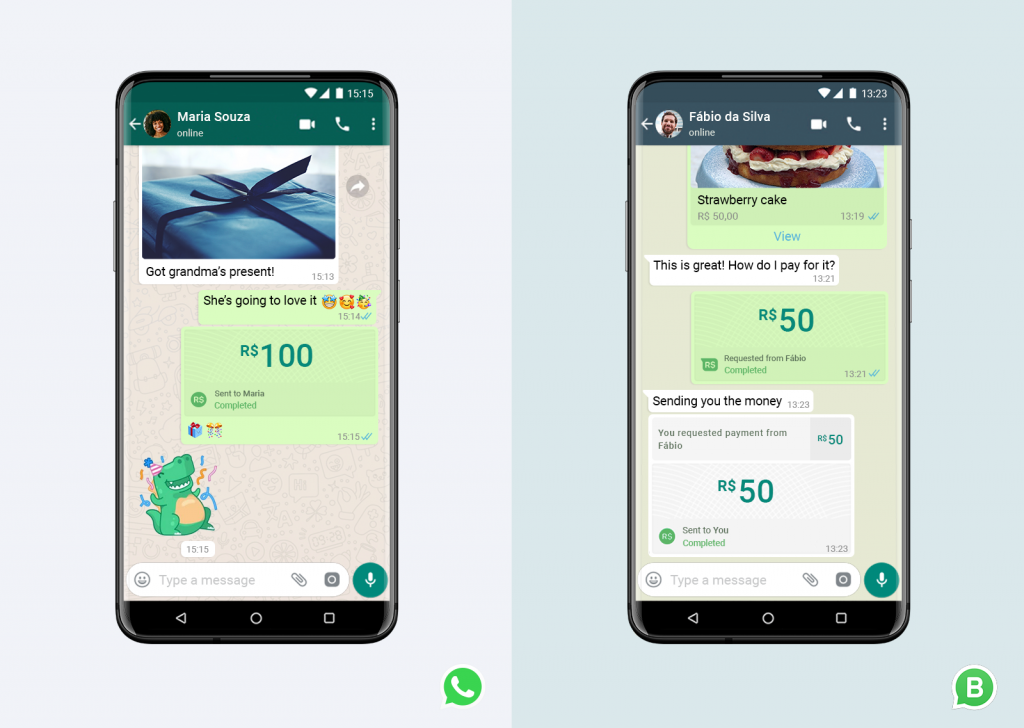 Whatsapp Payment-to-Payment Feature